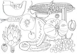 Small Picture fruit and vegetable coloring book thefrancofly