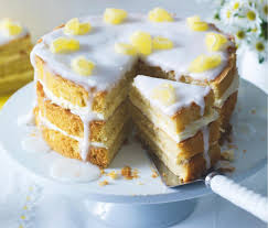 Perfect For Teatime Elderflower And Lemon Drizzle Cake