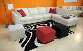 Living Room Furniture Leather And Upholstery Living Room Elegant Upholstery Leather Sectional Sofa Simple
