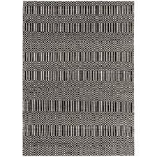 sloan black white geometric rug by asiatic 2