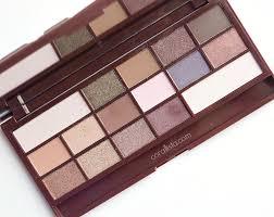 makeup revolution i heart chocolate wonder palette