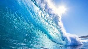 Crystal Blue Waves Beach Beautiful Blue Crystal Nature Ocean