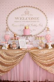 Princess Ball Decorations Awesome Kara's Party Ideas Pink Gold Royal Princess Party Planning Ideas