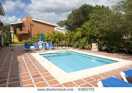 patio with square pool. Photo Of Square Pool In Tropical Resort Patio With L