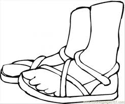 Small Picture Summer Shoes Coloring Page Coloring Page Free Shoes Coloring