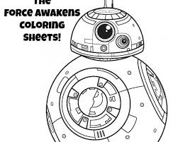 Small Picture Bb 8 Coloring Book star wars the force awakens bb 8 coloring page