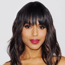 Flat Iron Hairstyles 0 Wonderful How To Style Bangs Even When You Have Zero Time Byrdie