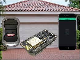garage door opener. Introduction: IPhone / Android, 8266 Arduino Blynk Garage Door Opener