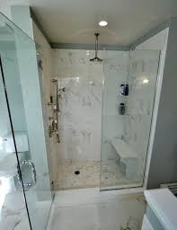 gallery of stand up shower ideas with bench seat diy classy original 11