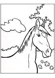 Kleurplaat Paard Horse Love Horse Coloring Pages Horse Love