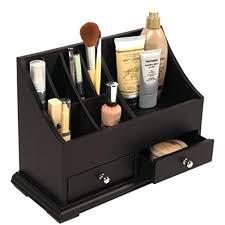 makeup organizer wood makeup organizers wood wooden makeup organizer uk