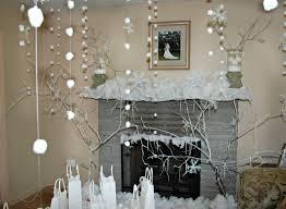 Winter Ball Decorations Interior Design Amazing White Winter Wonderland Themed 38
