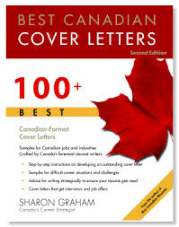 best canadian cover letters cover letter book