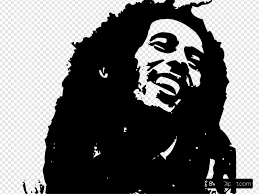 (voiced by keith david in all his glory.) cats are superior: Bob Marley Clipart Bob Marley Clipart Black And White 1600x1200 Wallpaper Teahub Io