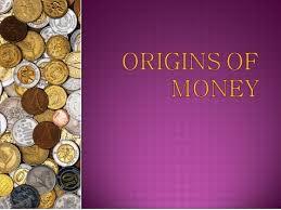 Презентация на английском языке origins of money ru Презентация на английском языке origins of money слайд 1