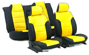 yellow car seats page baby jogger seat adapter custom truck covers and by cabs red