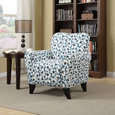 Blue Patterned Chair Amazing Amazon Handy Living BF48CPVB4848 Sasha Chair Blue Modern