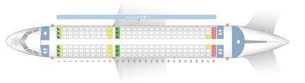 A320 Airbus 100 200 Seating Chart