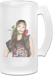 GOMYHOME Personalized Custom Beer Mug BLACKPINK JENNIE Glass Beer Drinkware  Stein Super Cup: Amazon.ca: Sports & Outdoors