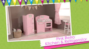 Kid Craft Retro Kitchen Kidkraft Pink Retro Kitchen Refrigerator On Vimeo