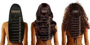 Straight Hair Length Chart Glam Hair Extension Length Chart Glam And Lux Hair