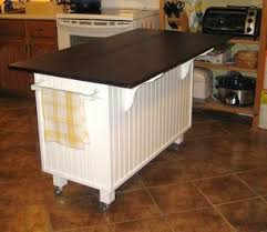 Make Your Own Kitchen Island Out Of A Dresser diy dresser kitchen