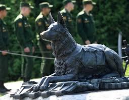 Картинки по запросу На Поклонной горе в Москве, открыли памятник фронтовой собаке