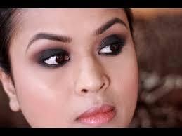 black smokey eye makeup full face makeup
