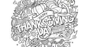 Small Picture Free Kids Thanksgiving Coloring Pages Festival Collections