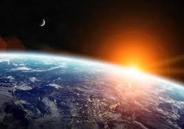 Ruimte Aarde Fotobehang 11793p8 Fotobehangkoopjesnl