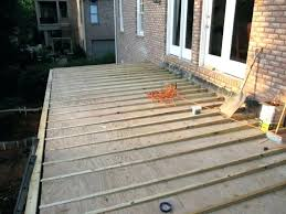 How to build a deck video Diy Build Deck Over Concrete Good Deck Over Concrete Patio For Deck Over Concrete Patio How Build Deck Todays Homeowner Build Deck Over Concrete Floating Build Deck On Concrete Blocks