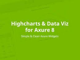 Axure Charts Highcharts Dataviz Axure 8 Widget Library
