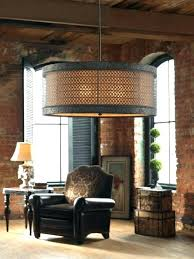 large drum chandelier extra