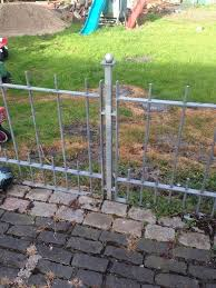 garden gates and fencing galvanised