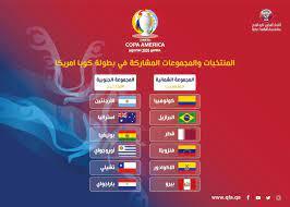 منتخبنا الوطني في المجموعة ( الثانية ) الشمالية ببطولة كوبا أمريكا 2020  بالأرجنتين وكولومبيا - الاتحاد القطري لكرة القدم