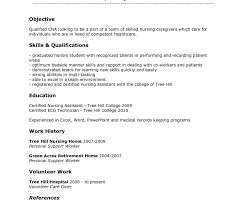 Cna Resume Skills Awesome Cna Resumes Samples Hospice Resume Sample Beautiful Duties List For