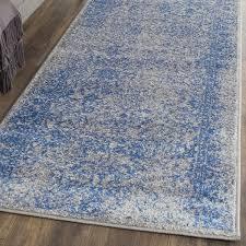 elegant blue runner rug safavieh adirondack vintage distressed grey blue runner rug 26