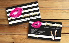 Lipsense Business Card Template Awesome Senegence Business Card