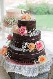 Wedding Ideas White Chocolate Wedding Cake Astounding Naked