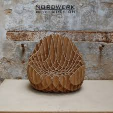 MC 205 Recycled Cardboard Armchair (S) | Armchairs, Industrial and ...