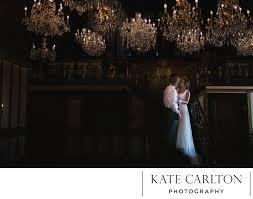 romantic chandelier barn wedding