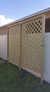 diy lattice privacy screen