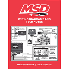 msd ignition 2 step module selector competition products msd ignition wiring diagrams and tech notes book