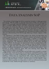 Statement Of Purpose Graduate School Example Sop For Ms In Business Analytics Sample