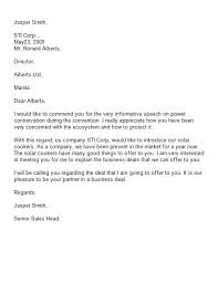 Business Letter Of Introduction Template Scrumps
