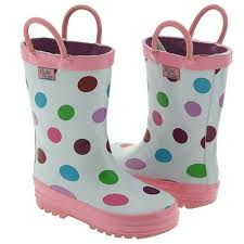 Pluie Pluie Size Chart Pluie Pluie Toddler Little Girls White Polka Dot Rain Boots 5 2