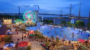 Penns Landing Festival Pier Philadelphia Pa Seating Chart Blue Cross Riverrink Summerfest And The Midway Visit