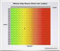 Hip Measurement Chart Still Solidly In The Green Weird Waist Hip Ratio