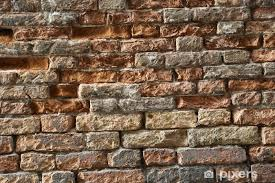 old brick wall vinyl wall mural themes
