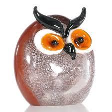 owl office decor. Owl Home Decor Chubby Glass Ornament Animal Figurine Model Decorative Office Decoration Craft Ideas